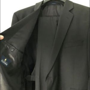 Black Stafford Travel Suit